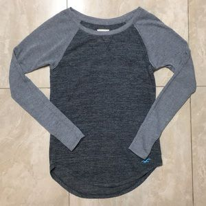 Hollister Raglan Baseball Long Sleeve T-shirt